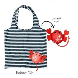 Foldaway Tote Crabby Claws Thirty-One Gifts